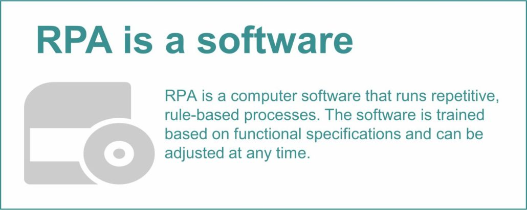 RPA is a software