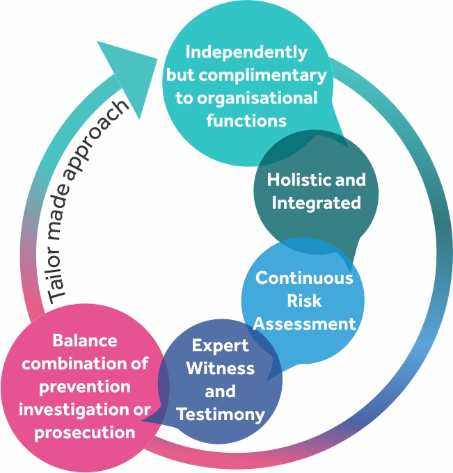 Tailor made approach Forensics