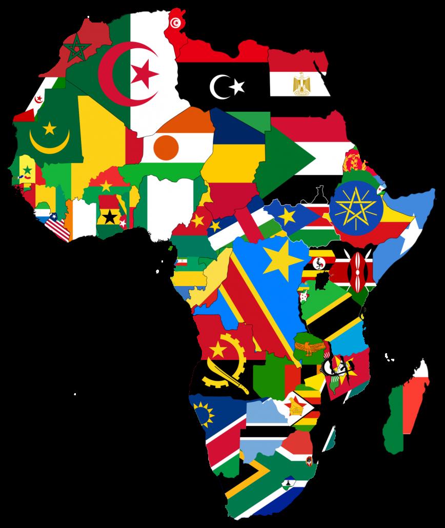 Africa Reach map